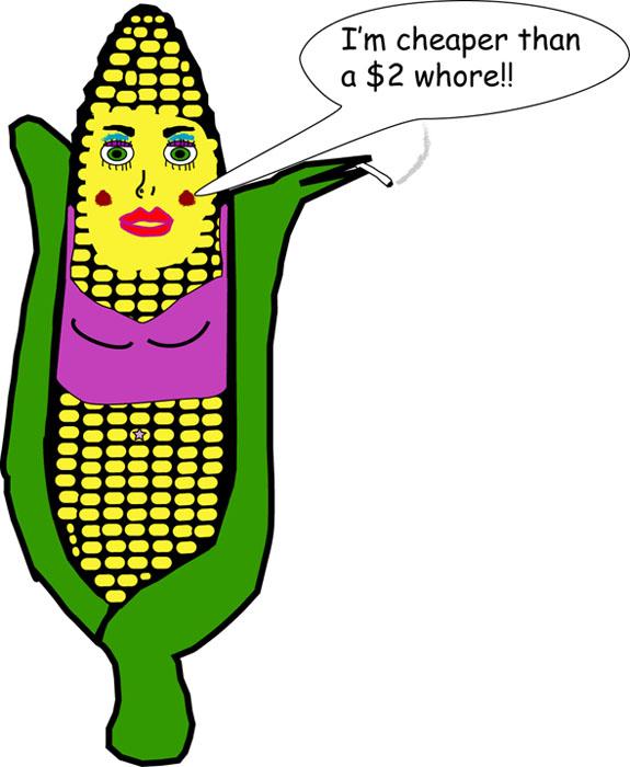 Short Crummy Cartoon: How I Feel About Corn   April Nicole Adams
