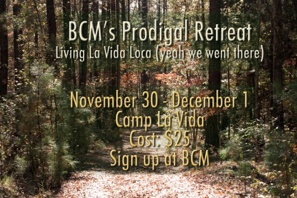 Prodigal Retreat Promo